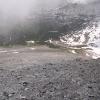 Bruschghorn - Blick zur Alp Curtginatsch