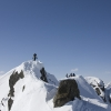 Flüela Wisshorn - Martin auf dem Gipfel