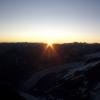 Piz Bernina - Sonnenaufgang von der Fuorcla Prievlus aus