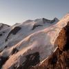Piz Bernina - Piz Palü, Bellavista und Piz Zupò (von links)