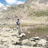 Piz d'Agnel - idyllischer Bergsee auf 2700m