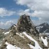 Piz d'Alp Val - von Osten, wo wir runtergeklettert sind