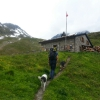 Ankunft Hütte