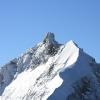 Piz Morteratsch - Piz Bernina, östlichster 4000er und Piz Alv 3995m davor.