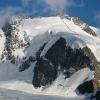 Piz Scerscen - Aufstiegs- und Abstiegsroute