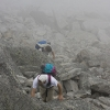 PIz Vallatscha - die letzten Meter zum Gipfel