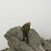Piz Vallatscha - Chelsea Boy auf dem Gipfel