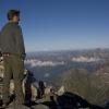Pizz Gallagiun - auf dem Gipfel mit Mischabel in der Ferne
