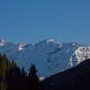 Scalettahorn - Scalettahorn vom Dischmatal aus