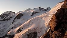 Pizzo Bianco / Piz Alv und Piz Bernina