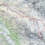 Route Piz Albris