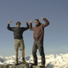 Bruschhorn - Pose auf 3000m