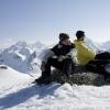 Flüela Wisshorn - Rast nach Winterlücke bei Punkt 2787m