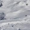 Flüela Wisshorn - Blick hinunter zum Jörigletscher