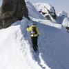 Flüela Wisshorn - Flo kurz vor dem Gipfel