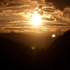Sunset im Unterengadin