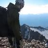 Piz Cambrena - skeptischer Blick auf den Südostgrat des Cambrena