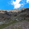 Piz Caral - unsere Abstiegsroute