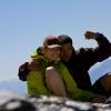 Piz Dolf - Gipfelphoto auf dem Piz Dolf