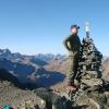 Piz Grialetsch - Posing auf dem Scalettahorn