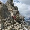 Piz d'Alp Val - wie oft bekommt man ein 30m Seil ins Gesicht geschmissen?