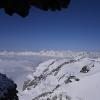 Piz Platta - über der Nebeldecke