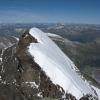 Piz Roseg - Route von der Schneekuppe zum Hauptgipfel