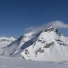 Piz Segnas - Panorama von Cassons aus