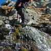Piz Uffiern - Bachüberquerung im Val Uffiern