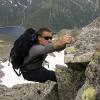 Piz Miez - Klettern nur mit Armkraft