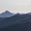 Pizz Gallagiun - Panorama vom Sardonamassiv bis Pizzo Badile