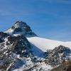 Scalettahorn - Chüealphorn mit Gletscher