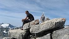 Piz Laviner und Piz d'Alp Val